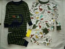 NEW Nwt Carters Boys Holiday Christmas Walrus 2 Pc Pajamas Set 18 Mo