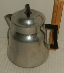 Wear Ever Coffee Pot Percolator 3016 Aluminum 16 cup Camping Stovetop Complete