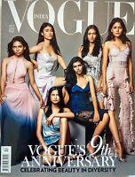 Vogue October 2016 9th Anniversary Padma Lakshmi Victoria Beckham Rana Begum