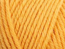 Cygnet Superwash DK Double Knit Cheap Knitting Wool Yarn 50g Gold 2155