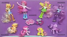 McDonalds 2015 - MY LITTLE PONY - COMPLETE SET OF 8