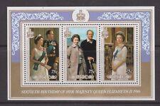 QEII Queen Elizabeth 60th Birthday 1986 MNH Stamp Sheet Niue 75c