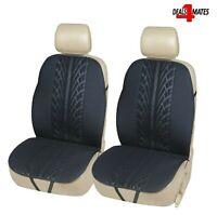 Black Leatherette Luxury Car Seat Cover Volkswagen PASSAT Estate 2010-2018