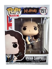 Funko Pop Vivian Campbell 151 Def leppard Rocks Collectible Vinyl Figure New