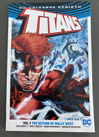 DC Comics Titans TPB Rebirth Vol 1 Nightwing Robin Flash Wally West Raven Teen