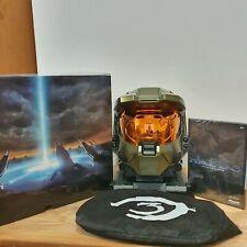 Halo 3 edición legendaria Master Chief Casco Juego Sellado Y Xbox 360 Caja de 2007