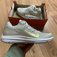 Nike Women's Zoom Winflo 5 Trainers Size UK 5.5 EUR 39 Beige AA7414 008 NEW