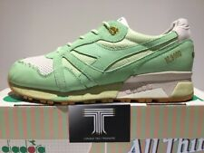 "Diadora x N9000 ""ICE Cream"" Feature Cuero Real ~ ~ verde pistacho consiguen UK Size 9"