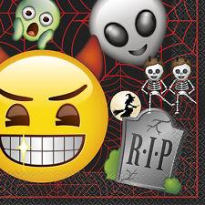 16 X Halloween Emoji Servilletas Rip Lapida Niños Halloween Servilletas Fiesta