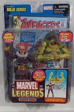 Marvel Legends Baron Zemo Unmasked Variant Mojo BAF Series Super Poseable ToyBiz