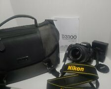 Nikon D D3100 14.2MP DSLR Camera - Black (Kit w/ AF-S DX VR 18-55mm Lens) + + +
