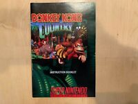 Donkey Kong Country(Super Nintendo, SNES) MANUAL Only Excellent