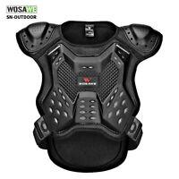 Protektorenjacke Brustpanzer Protektorenhemd Motorradpanzerweste für Kinder