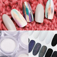 10g Nail Art Powder Dust Sugar Sparkling Hair Wool Holographicss Decoration Tips