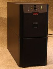 APC SUA3000i SMART-UPS 3000 VA Tower UPS -- New Batteries -- 12m RTB Warranty
