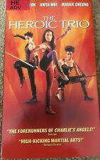 THE HEROIC TRIO VHS Yeoh Mui Cheun Kung Fu martial arts kung fu 1B
