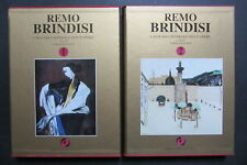 REMO BRINDISI  Catalogo generale opere  2 vol. Stefanini 1995-98  Galleria Pace
