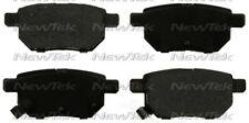 Disc Brake Pad Set-Galaxy Ceramic Disc Pads with hardware Rear NewTek SCD1354H