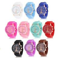 LOT OF 5 or 10 Watches, 2014 Woman Fashion Hot Sale Eiffel Tower Silicone Band