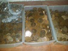 bulk lot 750 coins british Pennies halfpennies farthings very old mixt lot 750