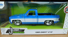 Jada 1:24 Mijo Exclusive 1985 Chevy C-10 Truck Custom Blue w/White