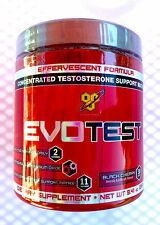 BSN EvoTest Powder (30 srv. Full Month Supply) Black Cherry - Axis HT NO Xplode