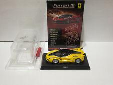Kyosho 1:64 Ferrari Collection 12 Ferrari FXX K yellow Brand new