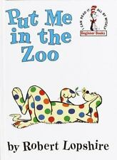 DR Suess Beginner Books Put Me in the Zoo by Robert Lopshire C1988