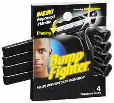 Bump Fighter Disposable Razors 4 Each (Pack of 3)