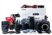 Canon EOS 6D Triple Zoom Special Set 50mm 35-80mm 75-300mm [Exc+++] w/Box [jkh]