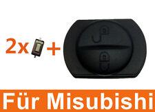 Gummitaste für Smart Auto Schlüssel 454 forfour Misubishi colt + 2x Mirco Taster