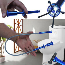 Flexible Magnet Pick Up Tool Claw LED Light Torch Magnetic Reach Blue Grab