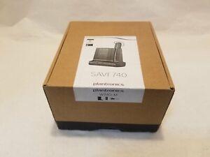 Plantronics SAVI W740M Ear-Hook Headsets - Black
