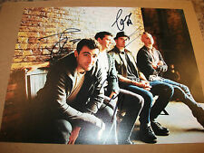 HEDLEY 8 X 10 PHOTO SIGNED BY ALL 4 JACOB HOGGARD DAVE TOMMY CHRIS (2)