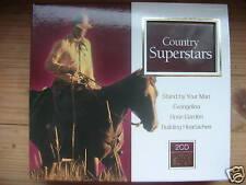 Country Superstars ALABAMA DOTTIE WEST TEX WILLIAMS 2CD