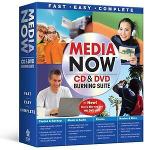 Media Now CD & DVD Burning Suite  Windows XP & Vista