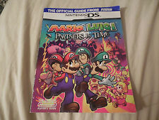 MARIO & LUIGI PARTNERS IN TIME NINTENDO POWER OFFICIAL STRATEGY GAME GUIDE DS