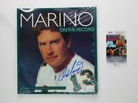 Dan Marino Signed On the Record Book Autographed JSA COA Miami Dolphins