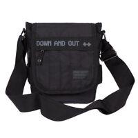 Down&Out kleine Umhängetasche für Damen und Herren Schultertasche Crossover Bag