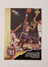 1993-94 Upper Deck Locker Talk #LT11 Karl Malone