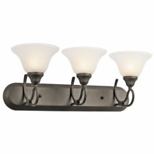 Kichler Lighting 5558OZ Stafford Bathroom Vanity Lights Olde Bronze-NEW