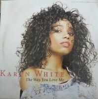 KARYN WHITE~The Way You Love Me-6 track maxi-WARNER BROS. 0-21025