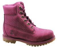 Timberland AF Icon 6 Inch Premium Womens Boots Lace Up Winter Purple A13HA WH