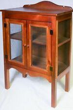 Pine Display Cabinets