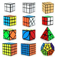 3x3 4x4 Magic Cube Ultra-Smooth Professional Stickerless Speed Cube Puzzle Twist