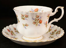 Vintage Royal Albert England Winsome Pattern Demitasse Cup and Saucer