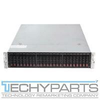 """Supermicro CSE-216BE1C-R920LPB 2U Server Chassis 2x920W 24x2.5"""" BPN-SAS3-216EL1"""