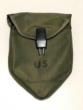 USGI OD Vietnam War Lightweight Tri-Fold Shovel Nylon Carrier Cover