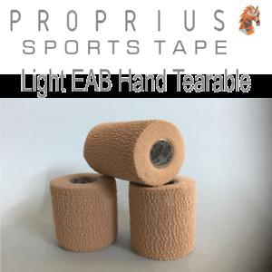 Light  EAB- Hand Tearable,Blood Tape,Elastic Adhesive Bandage, 6xRolls75mmx4.5m