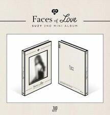 SUZY - Faces of Love (2nd Mini Album)+96p Photobook+4 postcards+Photocard